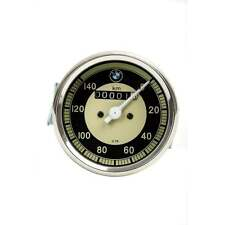 BMW SMITHS Replica 0-140 KPH Speedometer Black & Cream Face