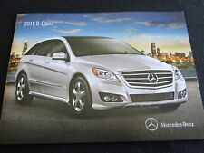 2011 Mercedes Benz R-class Catalog R350 & 350 BlueTEC Diesel US Sales Brochure