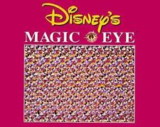 Disney's Magic Eye by Disney Staff and Hyperion Staff (1994, Hardcover)