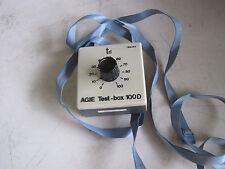 Warranty Agie Test Box 100D 100 D 780494 784144 Control