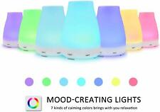 LED Aromatherapy Essential Oil Diffuser Aroma Cool Mist Diffuser Air Humidifier