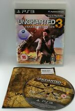 Uncharted 3: Drake's Deception Video Game for Sony PlayStation 3 PS3 TESTED