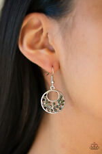 Hoop Earrings Nwt Paparazzi jewelry Rhinestone Silver