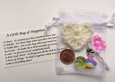 A Little Bag Of Happiness Ideal KEEPSAKE Wedding Favour or Thankyou Gift