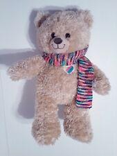 "Build a Bear Jason Mraz Plush 15""  Stuffed Animal w/ Rainbow Scarf"