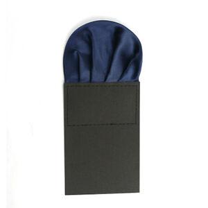 Men's Wedding Party Pre-folded Handkerchief Pocket Square Business Satin Hanky