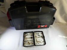 Updated! Vintage Fenwick 24 Tackle Box Filled With Fly Fishing Tackle Read!