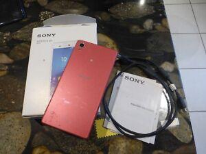 Sony Xperia M4 Aqua 16GB Coral Unlocked Smartphone Mobile Dual Sim box