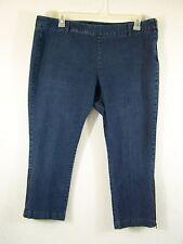 Apostrophe Womens Jeans Side Zipper Stretch Size 18