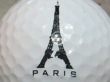 (1) Paris France Logo Golf Ball