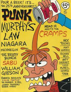 PUNK Magazine #0 Murphy's Law Niagara Sabu Holmstrom Damned Thunders MachineGun