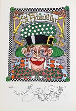 """/""""MARDI GRAS MUTT/"""" Jamie Hayes WHO/'S YOUR DADDY SIGNED LITHOGRAPH"""