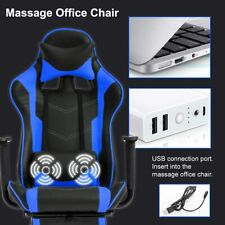 Ergonomic Cheap Gaming Racing Office PCDesk Computer Footrest Swivel Chair