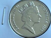 1989  AUSTRALIAN  20 CENT UNC=EX.MINT UNC SET