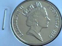 1989  AUSTRALIAN  20 CENT UNC=EX.MINT UNC SET