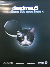 DEADMAU5, ALBUM TITLE GOES HERE POSTER (M9)