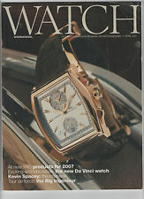 WATCH INTERNATIONAL / IWC SCHAFFHAUSEN APRIL 2007 - INTERNATIONAL WATCH COMPANY