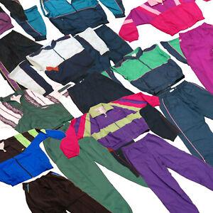 Jogginganzug Jogginghose [ Home Office Anzug ] Trainingsanzug, 80er Sportanzug