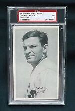 1936 NATIONAL CHICLE FINE PENS BASEBALL R313 COOKIE LAVAGETTO PSA 3 NQ PIRATES