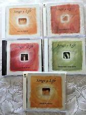 Time Life SONGS 4 LIFE CD LOT of 5 Praise Spiritual 10 CDs 110 Songs Petra Patti