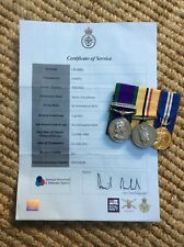 More details for csm medal group air ops iraq + iraq + golden jubilee all genuine issued sac raf