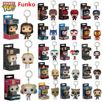 Funko Pocket Pop! Keychain Groot, Star Lord, Harley Queen Vinyl Figure Keyring