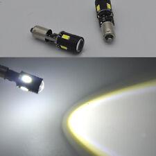 2x Leistungsstörung freie weiße Bay9s H21W 64136 CREE LED Projektor-Glühlampen