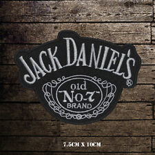 Jack Daniels No 7 Embroidered Iron On Sew On Patch Badge