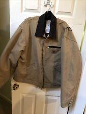 Vintage Carhartt - Detroit Work Wear Full Zip Front Fleece Lined Jacket - Xxl