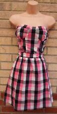Check Casual Dresses A-Line