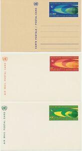 Vereinte Nationen (UNO) NY 1953/68 27 versch. ungebr. GA/GU's dabei U1B, R!