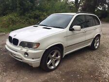 2002 BMW X5 4.6 IS M SPORT AUTO PRINS LPG WHITE SPARES OR REPAIRS