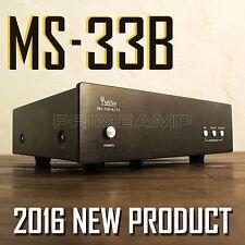 Yaqin ms-33b mc / mm 12ax7 12au7 tube à vide préamplificateur RIAA POUR PLATINE 23 ter