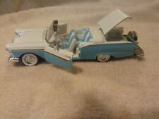1957 Ford  Fairlane  Convertible Road Champ 1:43    Blue n White. SWEEEET