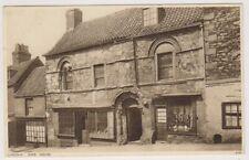 Lincolnshire postcard - Lincoln, Jews House (A281)
