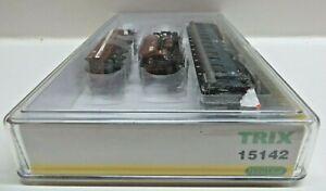 Minitrix 15142 N 3er Set Construction Wagon DB Special Series 2001 Mint Boxed