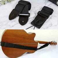 1x Guitar Strap Adjustable Universal Nylon Strap For Folk Acoustic Guitar A0C6