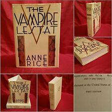 **1st Ed, 1st Print**  The Vampire Lestat, Anne Rice, VERY RARE WITH PURPLE EDGE