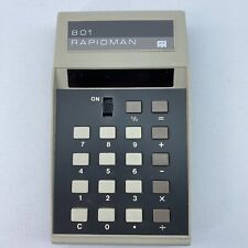 Rapid Data Systems Dataman 801 Vintage Electronic Calculator