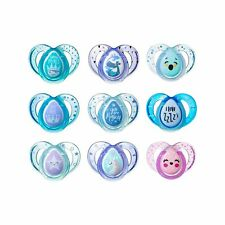 Tommee Tippee Day & Night Pacifiers, with Glow-in-The-Dark, Bpa-Free, 18-36 M.