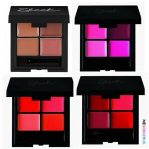 Sleek MakeUP L4 Lipstick Palette Range