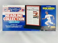 Deion Sanders MLB Starting Lineup Headline Collection Kenner NIB