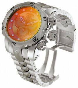 Invicta Venom 0967 Men's Round Chroniograph Date Tinted Lens Analog Watch