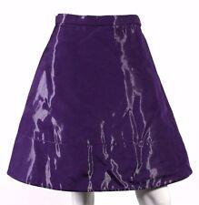 LOUIS VUITTON Spring 2008 Runway Violet Technical Fabric Full Skirt 40
