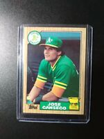 1987 Topps Jose Canseco Oakland Athletics #620 Baseball Card All Star Rookie