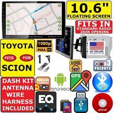 "FITS/FOR TOYOTA SCION 10.6"" NAVIGATION BLUETOOTH USB CD/DVD CAR RADIO STEREO PKG"