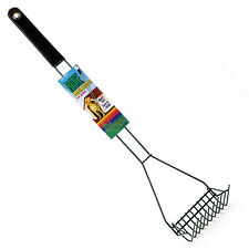 Pet Waste Scooper Cat Dog Scoop Clean Rake Poop Bag Lawn Yard Metal Pooper
