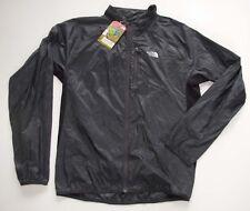 New The North Face Mens BETTER THAN NAKED Lightweight Running Jacket GREY Medium