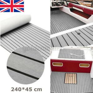 240CM EVA Foam Teak Decking Carpet Boat Marine Yacht Flooring Sheet Mat UK