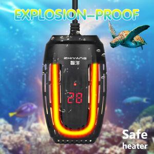 Digital Aquarium Heater For Tropical Marine Fish Tank Submersible Thermostat F7